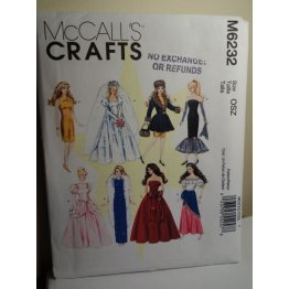 McCalls Sewing Pattern 6232