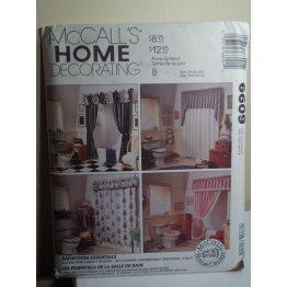 McCalls Sewing Pattern 6609