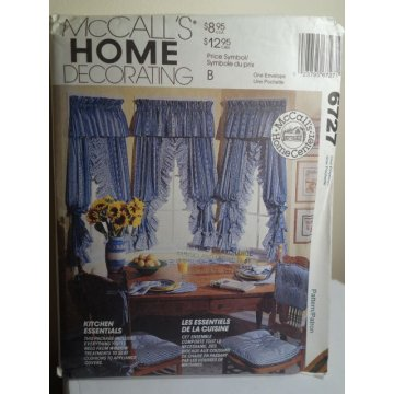 McCalls Sewing Pattern 6727