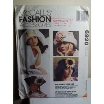 McCalls Sewing Pattern 6920