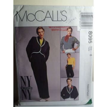 McCalls Sewing Pattern 8095
