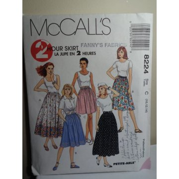 McCalls Sewing Pattern 8224