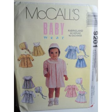 McCalls Sewing Pattern 9201