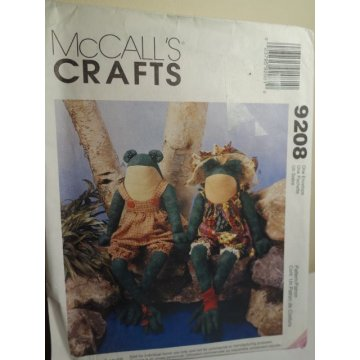 McCalls Sewing Pattern 9208