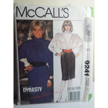 McCalls Sewing Pattern 9241