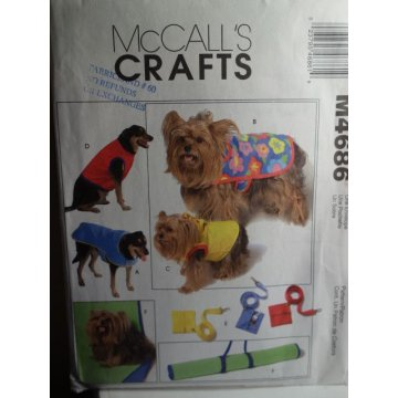McCalls Sewing Pattern M4686