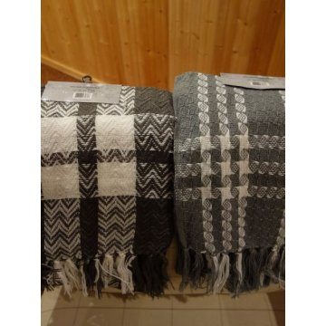 Two Brand New TRUE NORTH Mens Jacquard Knitted Scarfs