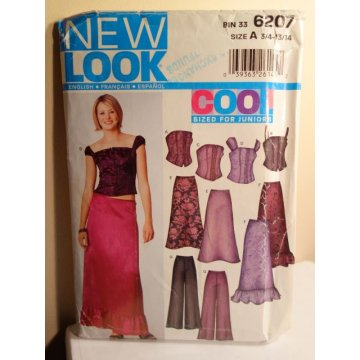 NEW LOOK Sewing Pattern 6207