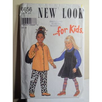 NEW LOOK Sewing Pattern 6656