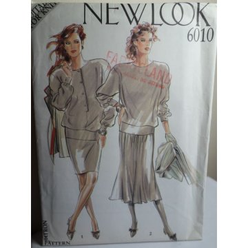 NEW LOOK Sewing Pattern 6010