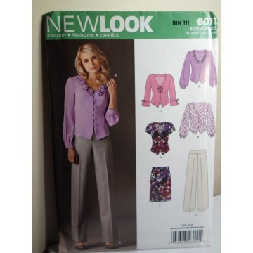 NEW LOOK Sewing Pattern 6011