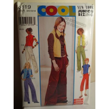 NEW LOOK Sewing Pattern 6119