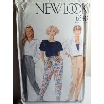 NEW LOOK Sewing Pattern 6548