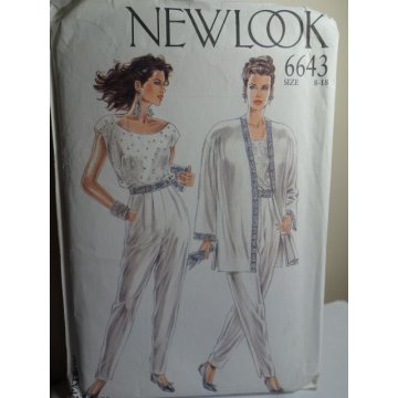 NEW LOOK Sewing Pattern 6643