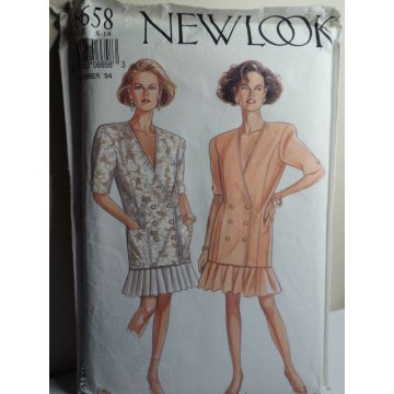 NEW LOOK Sewing Pattern 6658