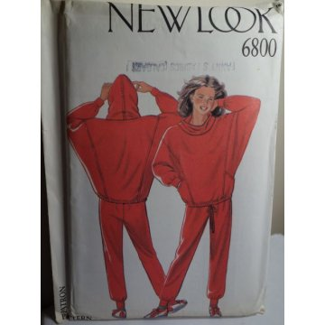 NEW LOOK Sewing Pattern 6800