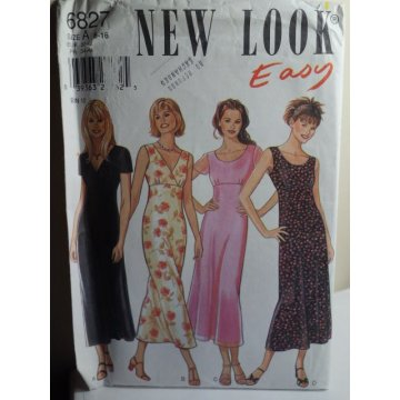 NEW LOOK Sewing Pattern 6827
