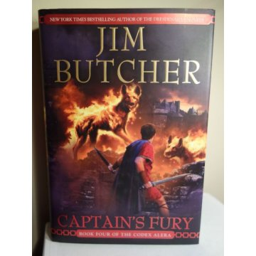 Captains Fury - Jim Butcher - First Edition - HARDCOVER