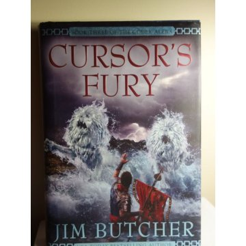 Cursors Fury - Jim Butcher - First Edition - HARDCOVER