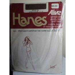 Hanes Alive 809 Vintage Pantyhose