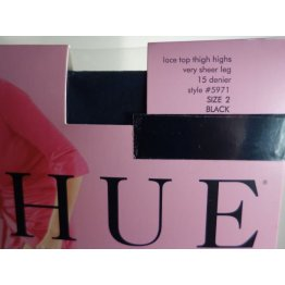 HUE French Lace Pantyhose