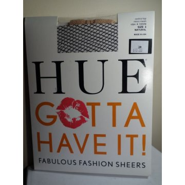 HUE Gotta Have it Micro Mesh Pantyhose