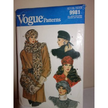 Vogue Sewing Pattern 9981
