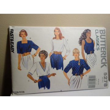 Butterick Sewing Pattern 5278