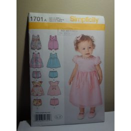 Simplicity Sewing Pattern 1701