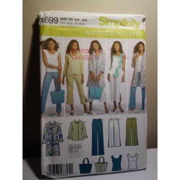 Simplicity Sewing Pattern 4699