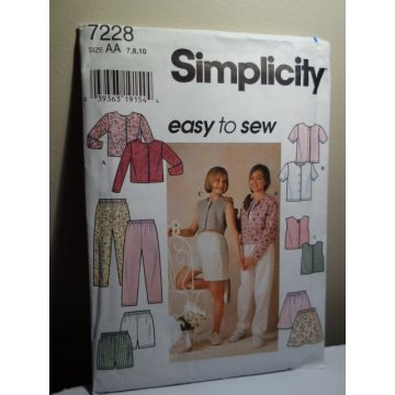 Simplicity Sewing Pattern 7228