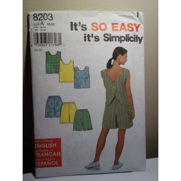 Simplicity Sewing Pattern 820