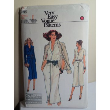 Vogue Sewing Pattern 7291