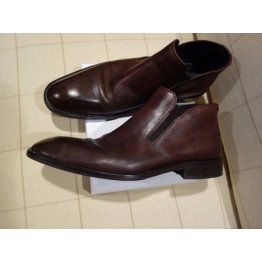 Hugo Boss Mens Low Ankle Boots - All Leather Casual