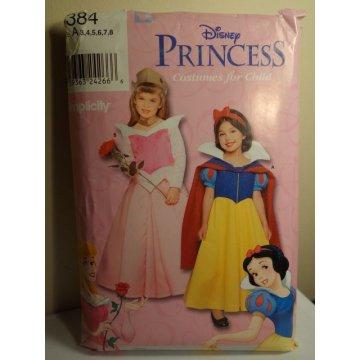 Simplicity Disney Princess Sewing Pattern 9384