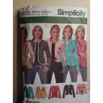Simplicity Sewing Pattern 4635