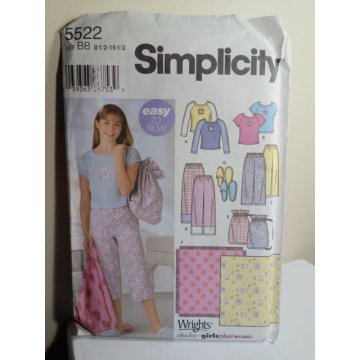 Simplicity Sewing Pattern 5522