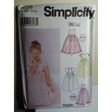 Simplicity Sewing Pattern 5638