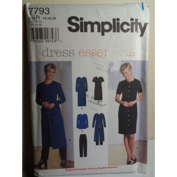 Simplicity Sewing Pattern 7793