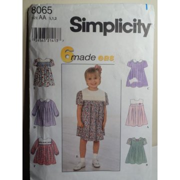 Simplicity Sewing Pattern 8065