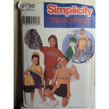 Simplicity Sewing Pattern 9798