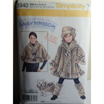 Simplicity Sewing Pattern 3940