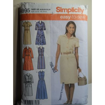 Simplicity Sewing Pattern 4995