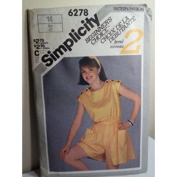 Simplicity Sewing Pattern 6278