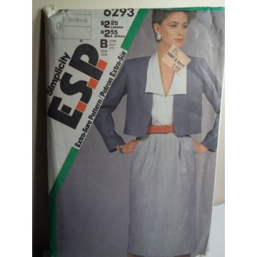Simplicity Sewing Pattern 6293