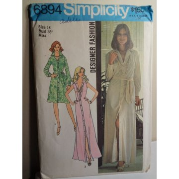 Simplicity Sewing Pattern 6894