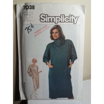 Simplicity Sewing Pattern 7038