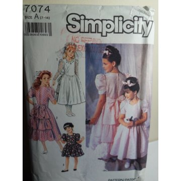 Simplicity Sewing Pattern 7074