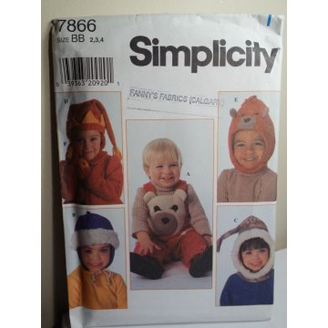 Simplicity Sewing Pattern 7866