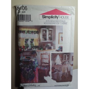 Simplicity Sewing Pattern 8106
